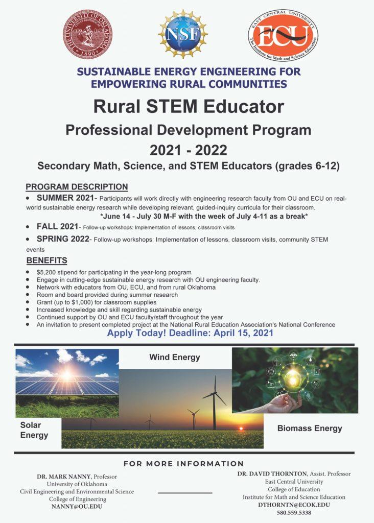Rural STEM Educator PD Program